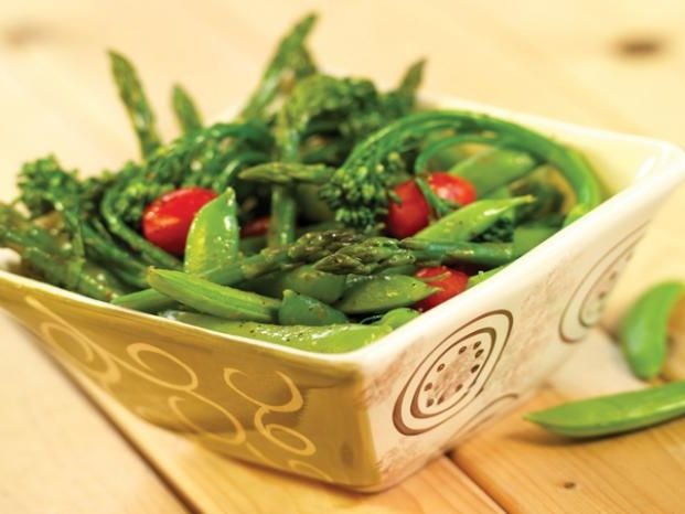Recipe: Sauteed Spring Vegetables