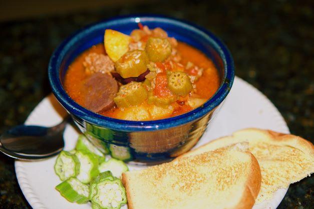 Mema's Okra Soup